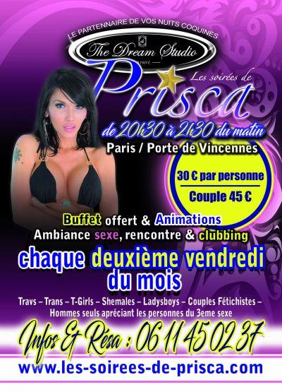 So Glam - So Chic la soirée de Prisca