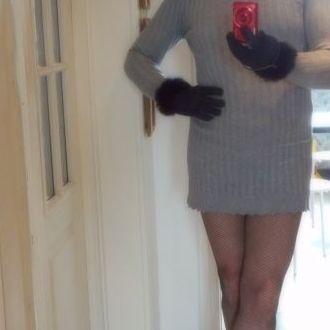 clarisse robe grise