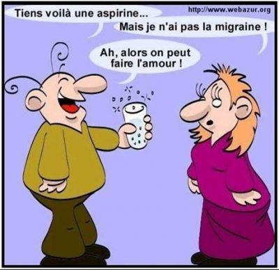vive l'aspirine !