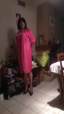 Ma  nouvelle robe reçue ce jour  jr duid heurese