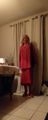 en dame bourgeoise ce soir