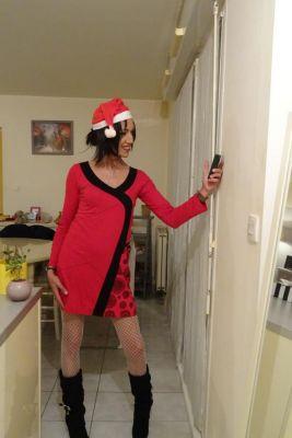 Miss Nouuuël est de retour !!!! no no j'étais pas bloquée dans la hotte du père Noël (mdr) Gros BiBi de tout cœur à toutétouss ainsi qu'un excellent et merveilleux réveillon de Noël :)