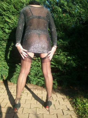 petite pause en bas cervin et cette robe que j'adore...
